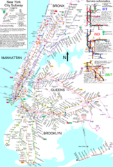 NYC Subway Map (unofficial)