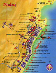 Nabq Bay Tourist Map