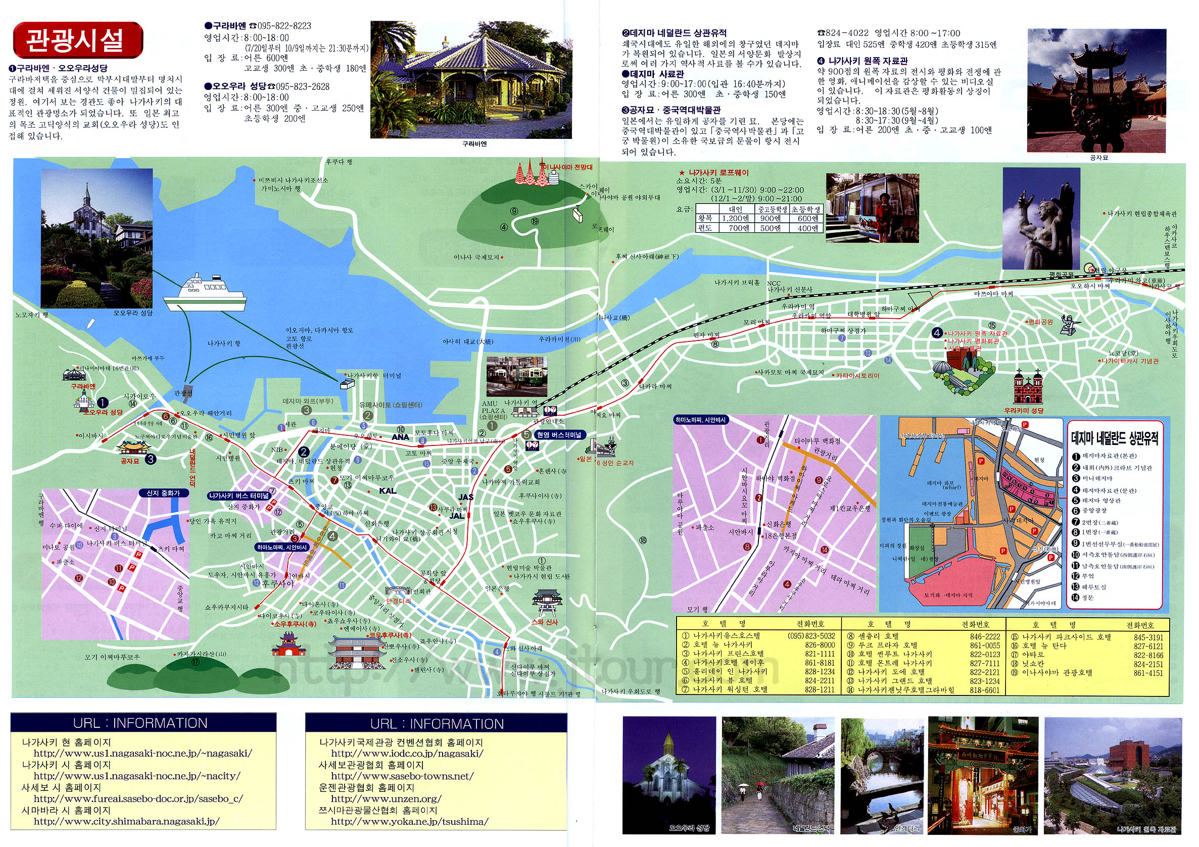 Nagasaki Tourist Map Nagasaki Japan mappery – Tourist Map Of Japan English