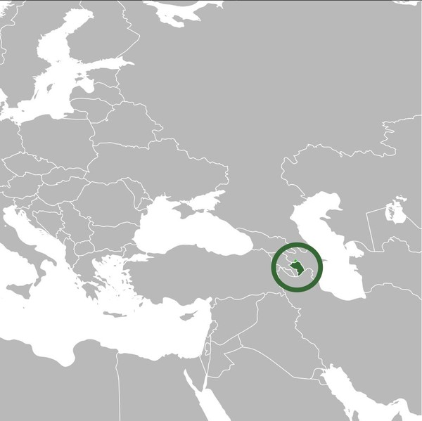 Nagorno-Karabakh Republic on the Map