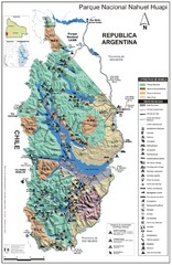 Nahuel Huapi National Park Map