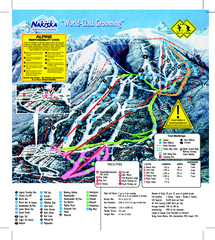 Nakiska Ski Resort Ski Trail Map