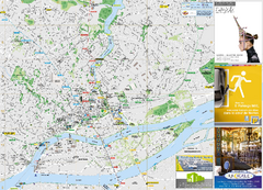 Nantes Tourist Map