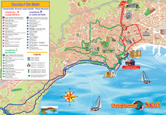 Naples Tourist Map