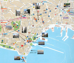 Napoli Tourist Map