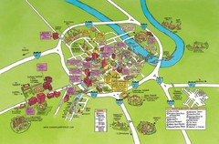 Nashville, TN Tourist Map