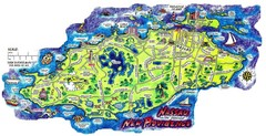 Nassau New Providence Island Map
