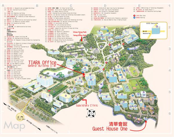 National Tsing Hua University Map - Hsinchu Taiwan • mappery