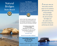 Natural Bridges State Beach Map
