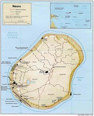 Nauru Island Tourist Map