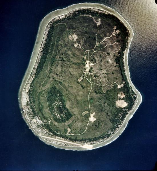 Nauru Satellite Map - Nauru • mappery