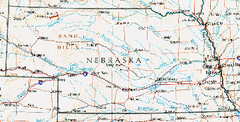 Nebraska Atlas Reference Map