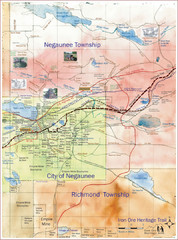 Negaunee Trail Map