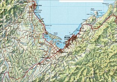 Nelson Topo Map
