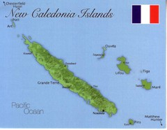 New Caldeonia Map