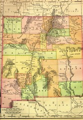 New Mexico 1895 Map