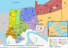 New Orleans Districts Map