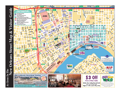 New Orleans French Quarter Map
