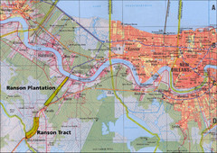 New Orleans Tourist Map