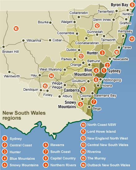 the now New South Wales