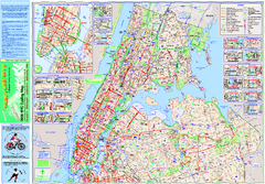 New York City Bike Map