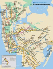 New York City Public Transportation Map