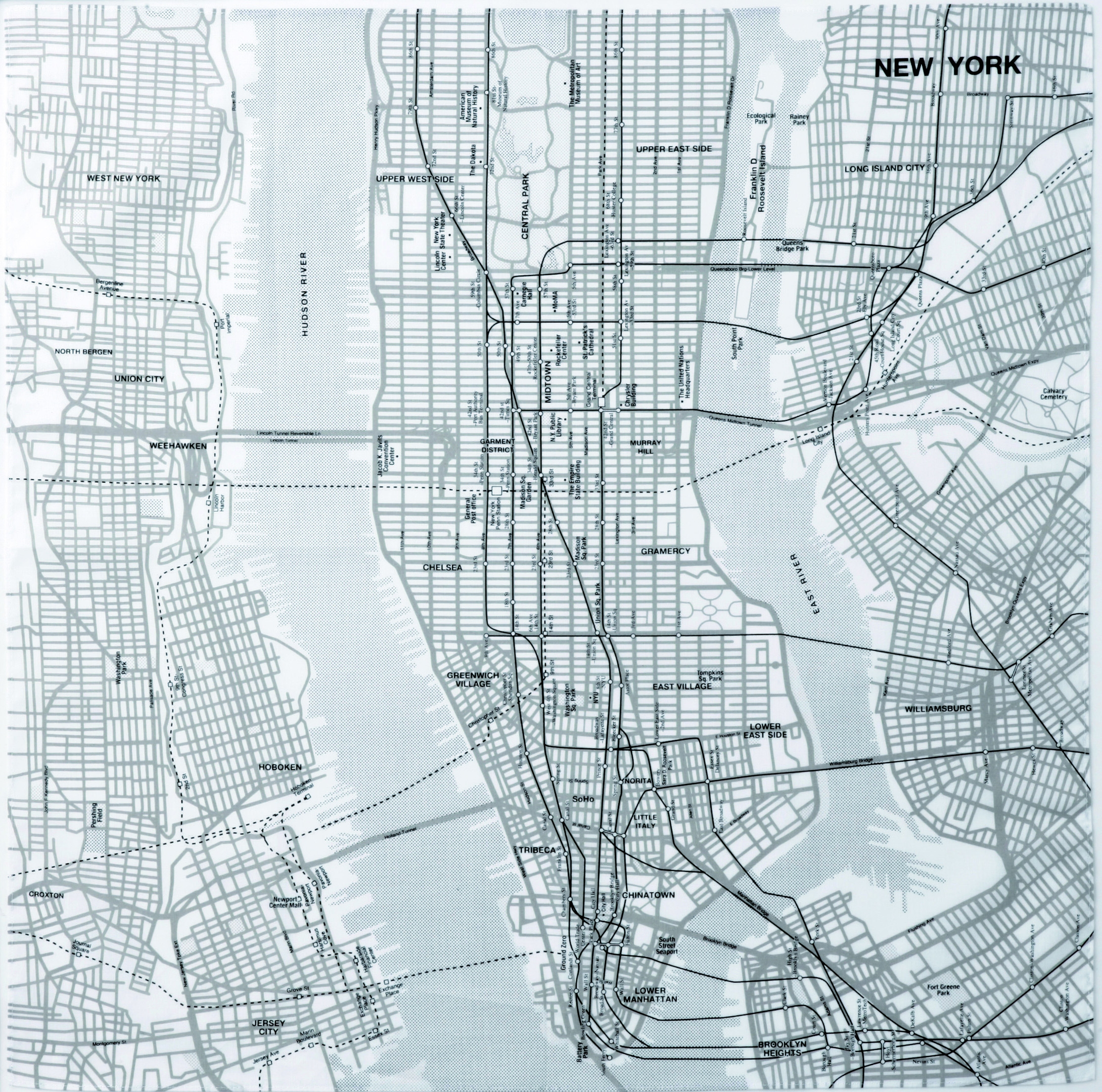 New york city tourist map see map details from www muji us