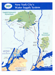 New York City's Water Supply System Map