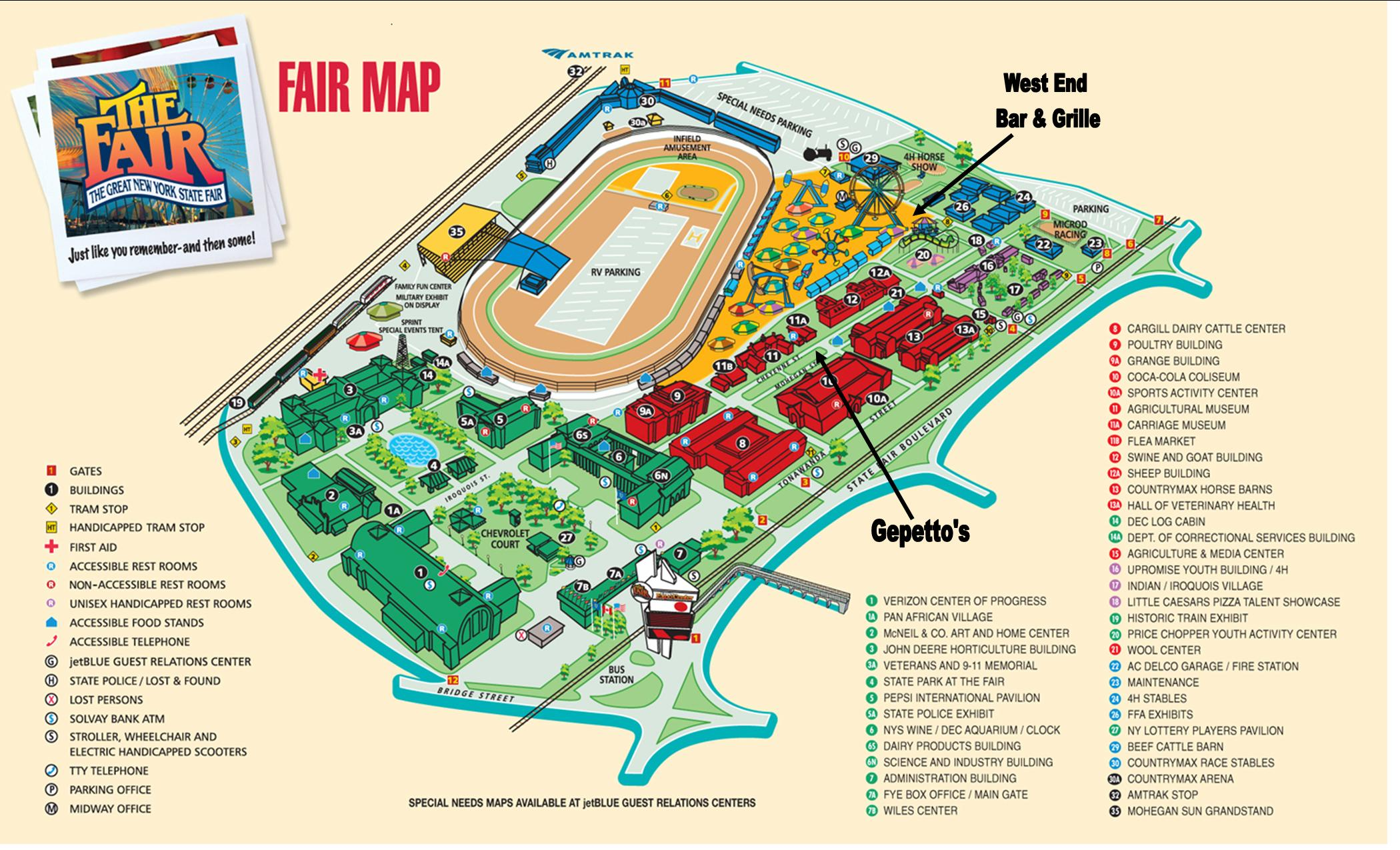 New York State Fairgrounds Map New York State Fairgrounds Syracuse