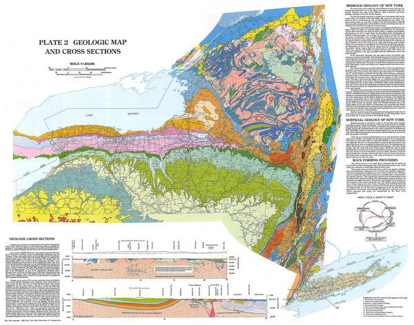 New York State Geologic Map New York State Mappery