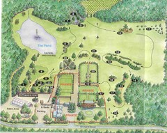Newbury Perrenial Gardens Guide Map