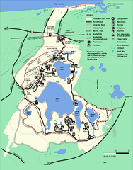 Nickerson State Park trail map