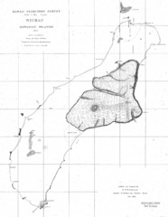Niihau Island Map 1904
