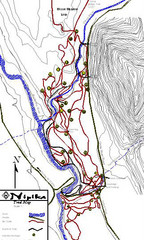 Nipika Ski Trail Map