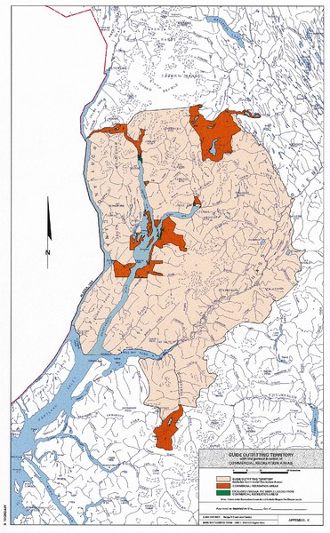 Nisga'a Commercial Recreation Area Map