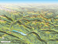 Nockberge National Park Map