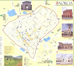 Norcia Map