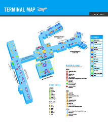 Norfolk International Airport Terminal Map