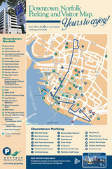 Norfolk, Virginia City Map