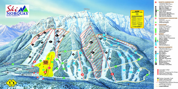 Norquay Map