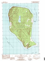 North Manitou Island Map