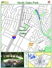 North Oaks Park Map