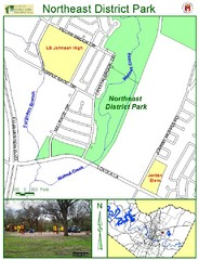 Northeast District Park Map