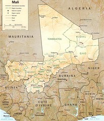 Northern Africa Tourist Map