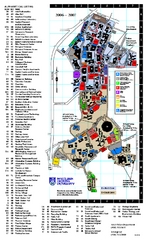 Northern Arizona University Map