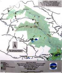 Northern Catskill Trail Map