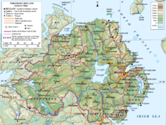 Northern Ireland General Map