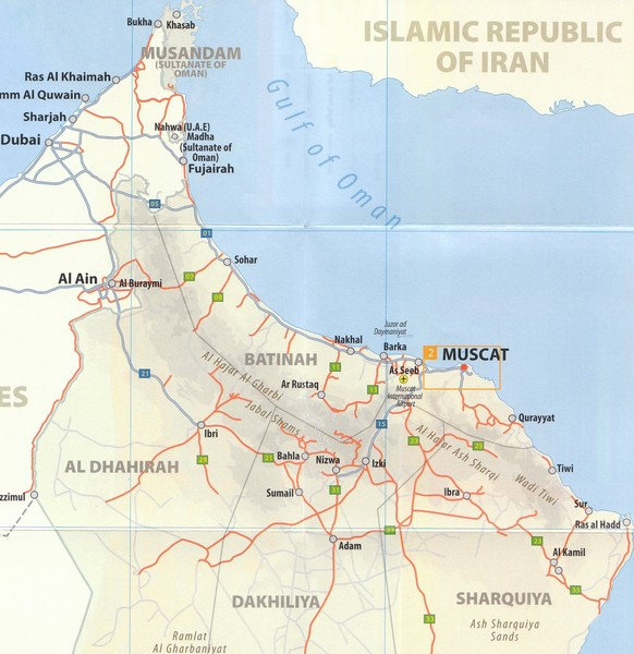 Oman Map Oman Mappery - Oman map