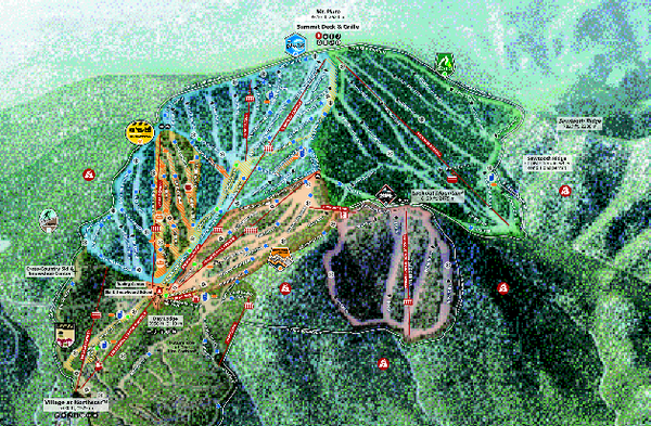 Northstar Ski Trail Map