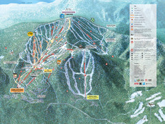 Northstar-at-Tahoe Ski Trail Map